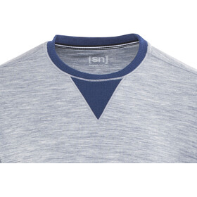 super.natural Comfort Sweatshirt Men Blue Melange/Indigo